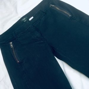 J, Crew black stretch City Fit skinny pants size 0